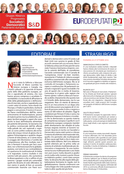 10 2016 newsletter eurodeputati pd